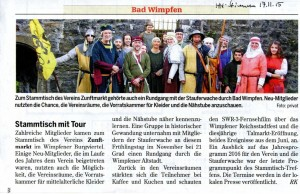 17.11.2015 Heilbronner Stimme