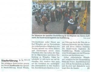 14.11.2014 Heilbronner Stimme